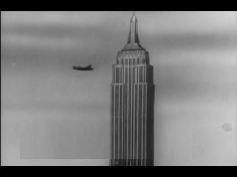 1945 Airplane Crashes Into The Empire State Building Killing 14