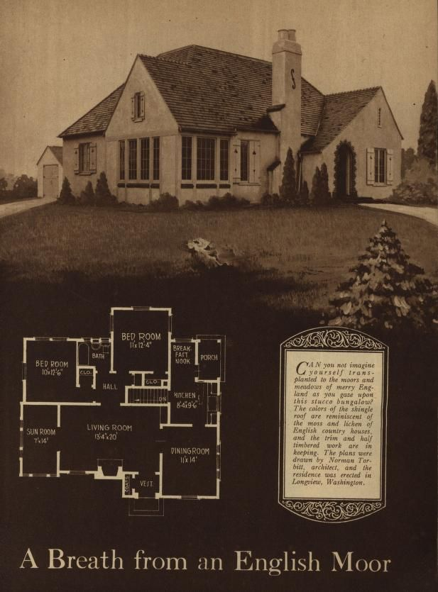 A Book Of Artistic Homes Shown In Rotogravure Illustrating The Work Of Many Of The Most Prominent Small House Architects In America Building Age And National Small House Architects Vintage