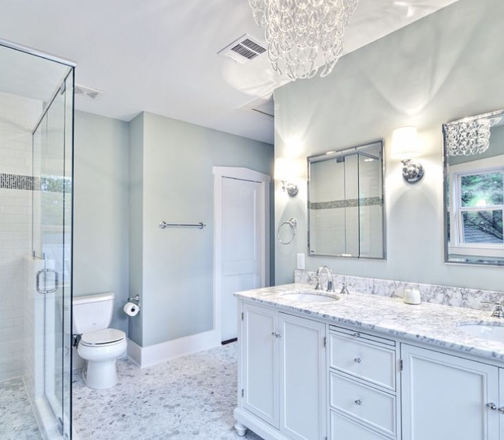Master Bathroom Remodel White