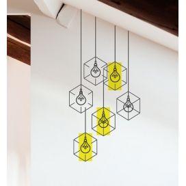 Наклейка виниловая на стену