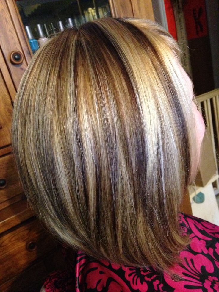 Contrasting Hair Colors Foils Sara S Hair Creations