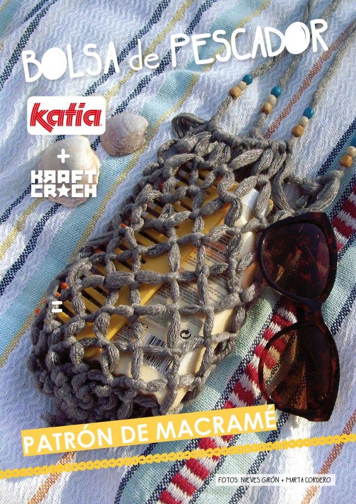 Bolsa de Pescador con Trapillo ~Patrón Gratis en Castellano