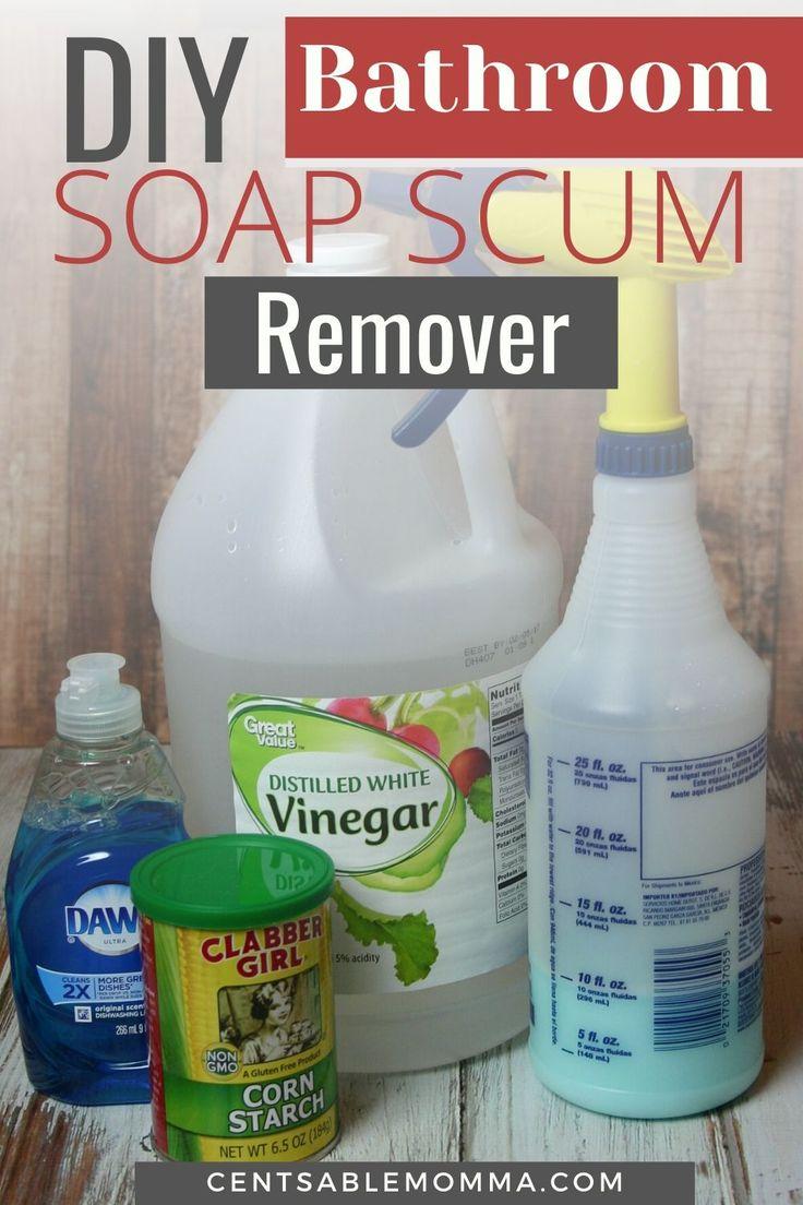 Diy bathroom soap scum remover in 2020 bathroom soap