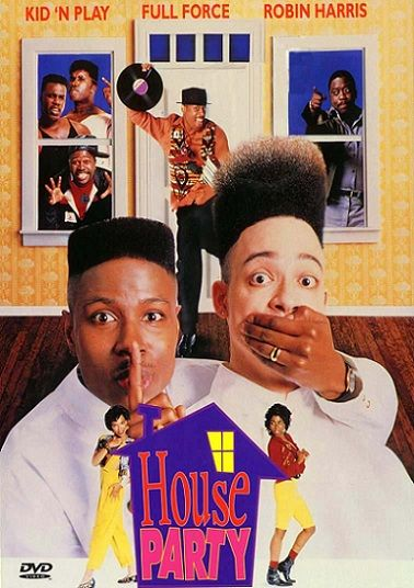 1990s vintage house party film movie poster kid n play tisha campbell martin lawrence