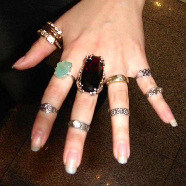 Phoebe Buffay rings