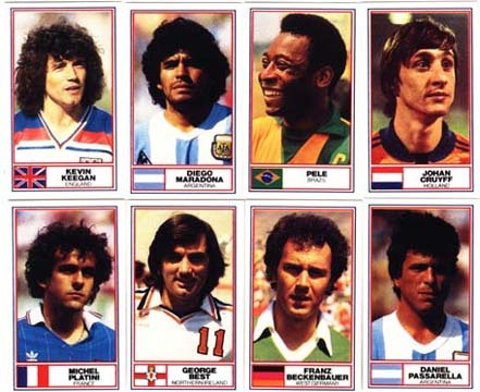 Panini football stickers - Amazing players www.paninishop.be