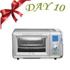 On the tenth day of the 12 days of Cuisinart contest the daily prize is the  Combo Steam + Convection Oven! (http://ow.ly/rJGDO)