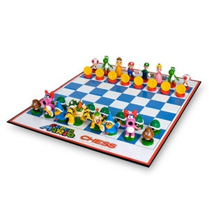 Super Mario Chess SetSupermario Chess, Scacchi Supermario, Gift Ideas, Boards Games, Mario Brother, Mario Bross, Chess Sets, Bros Chess, Super Mario Bros