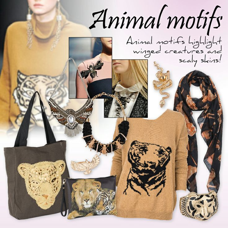 Animal motifs!