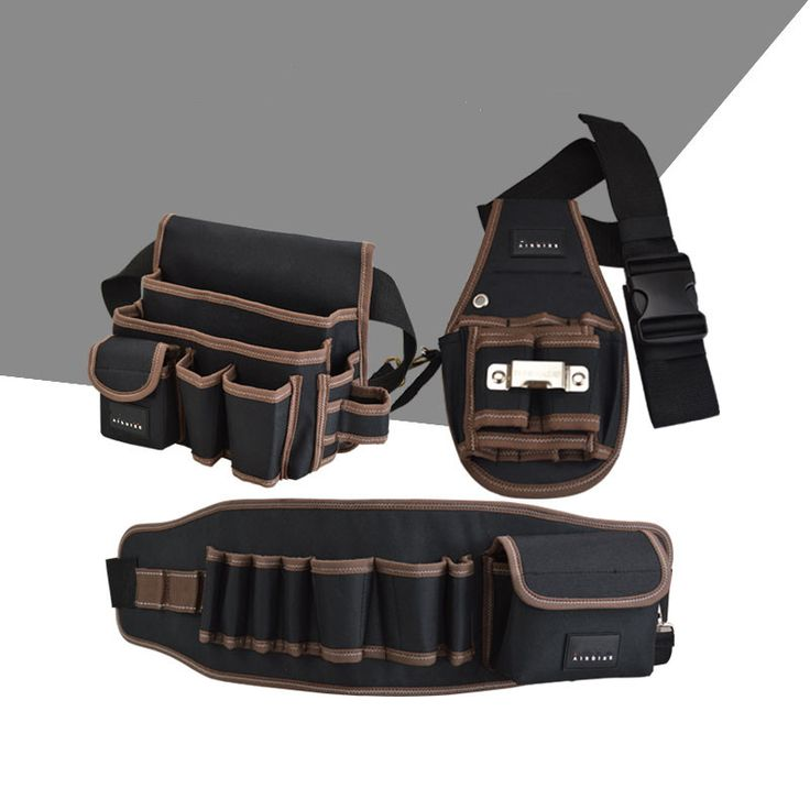 Portable Oxford cloth Tool Bag Electrical Tools Pocket Pockets Waterproof Multifunctional Woodworking Tool Bags