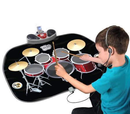 Christmas Gift Ideas - Zippy Mat Drum Kit Playmat Kids Musical Drum Set