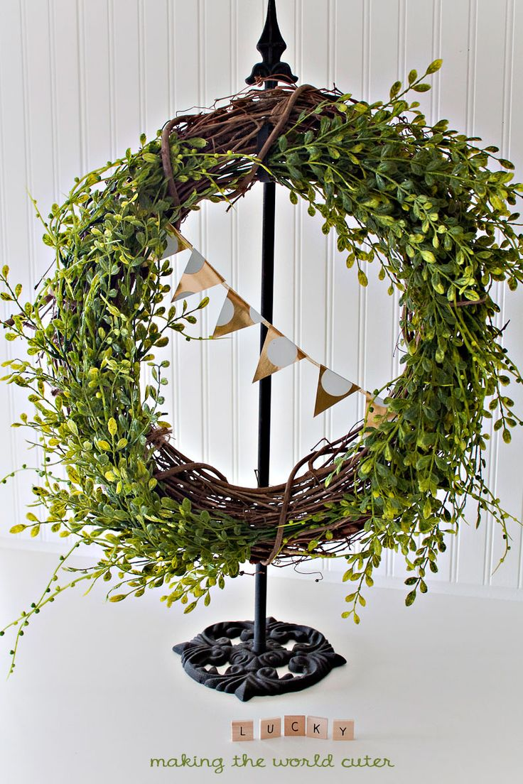 Peony Spring Wreath. Rustic WreathsWreath MakingDoor ...