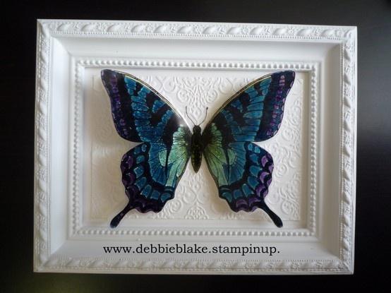 Debbie Blake - Swallowtail Framed