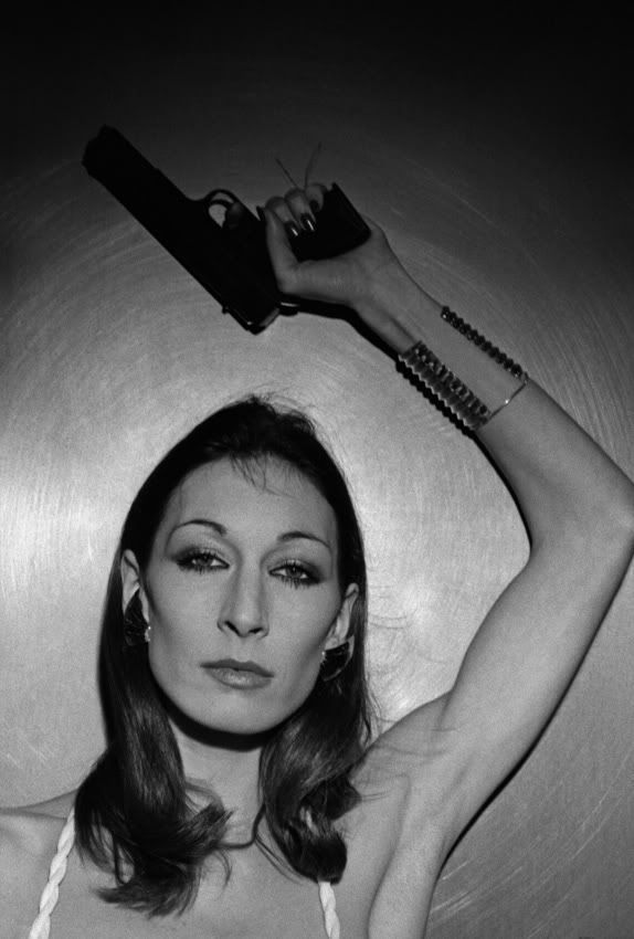 Anjelica Huston     I'm named after her:) Well my middle name only I spell it Angelica:)     She is my parents fav actress lol I see I am doing my best to live up to the name lol