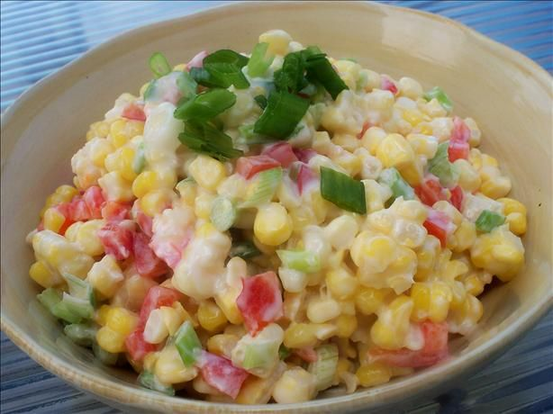 Fresh Corn Salad | Recipe