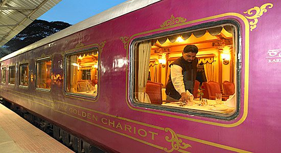 Awsome Package to travel in Golden Chariot, Indian Travel Agency,Tour Operators in India,Tailormade Tours to India,Budget Travel in India