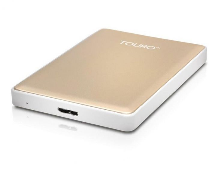 Hitachi 1TB 7200obr. USB 2,5'' złoty USB 3.0 Touro S - Dysk twardy zewnętrzny - Satysfakcja.pl