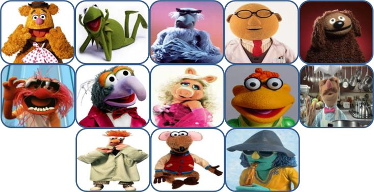 Muppet Show Characters Pictures And Names Muppets
