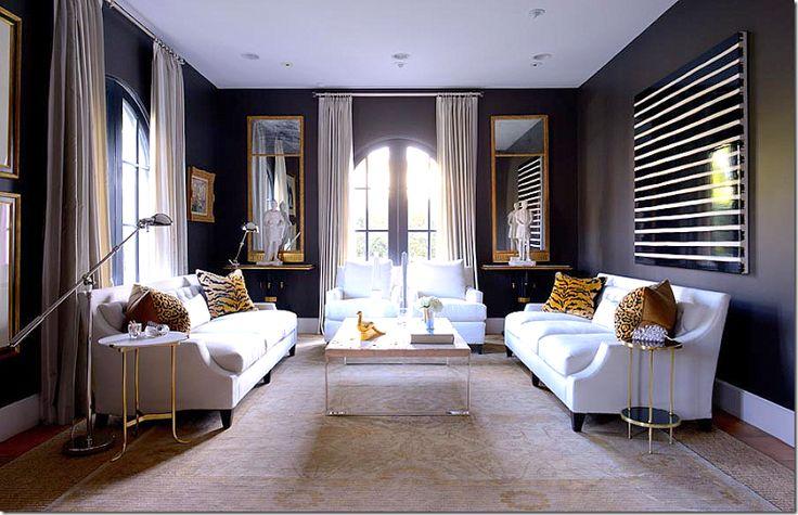 1000 Ideas About Dark Gray Sofa On Pinterest Grey Sofas