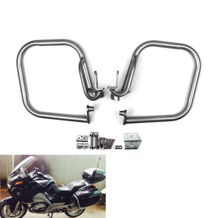 Mad Hornets - Pannier Saddlebag Guard Crash Bar Set BMW R1200RT (2005-2013) Silver, $269.99 (http://www.madhornets.com/pannier-saddlebag-guard-crash-bar-set-bmw-r1200rt-2005-2013-silver/)