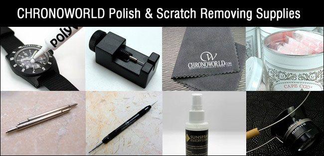 http://www.chronoworld.com/tools-supplies/polish-scratch-removing-supplies.html #WatchTools #Polish #Cloth #Horology