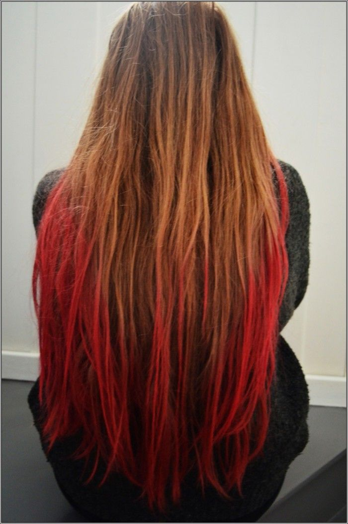 Blonde hair with red dye underneath - Hair Color : Fashion Styles ...