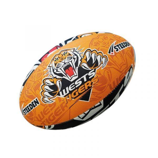 Ball S2 NRL Steeden Tigers Supporter 2017 https://ballsdirect.com/