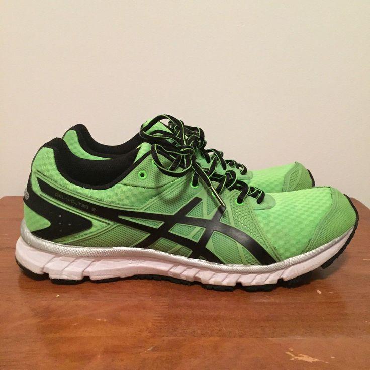 Asics Gel-Volt33 2 Running Trainers Shoes Sneakers Volt Green Mens US 9 EUR 42.5 | eBay
