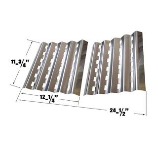 Grillpartszone- Grill Parts Store Canada - Get BBQ Parts, Grill Parts Canada: Grill Zone Heat Plate | Replacement 2 Pack Stainle...