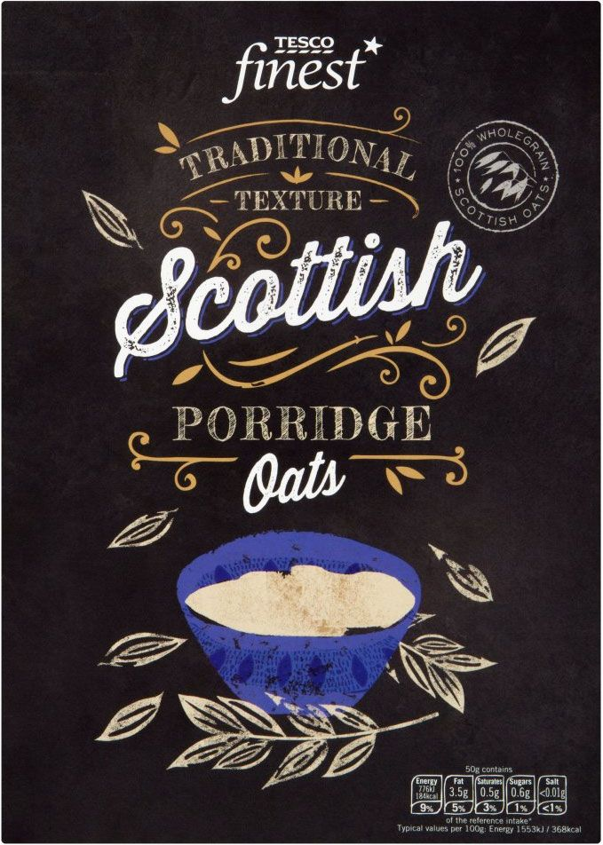Tesco Finest Scottish Porridge Oats