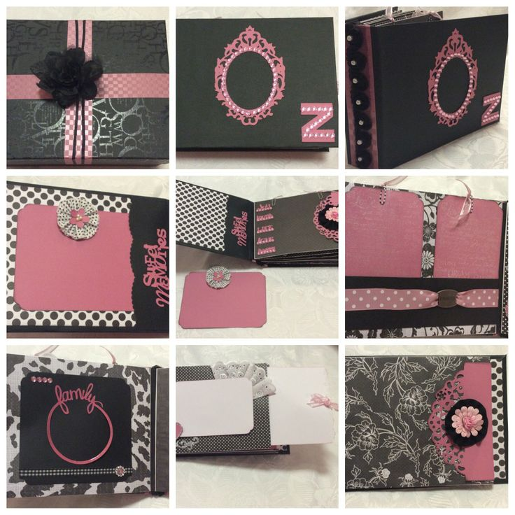 Mini album made with recollections stack from Michaels