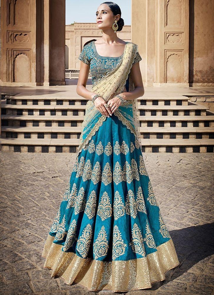 Bollywood Indian Ethnic Sari Designer Lehenga Party Wear Women Pakistani 6047 #StyleFashionHub #LehngaCholi