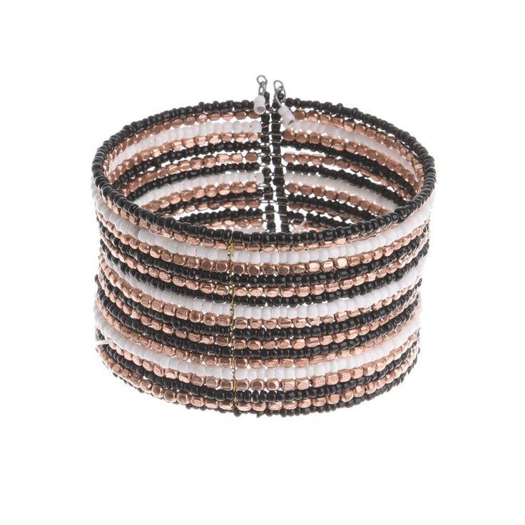 BRACELET IN BLACK/WHITE COLOR - Bracelets - Jewellery - Accessories