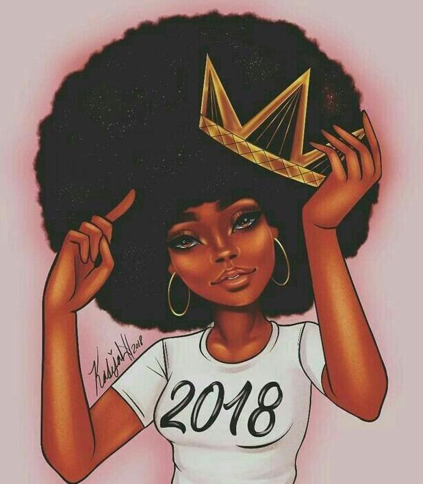 Black women queen art #12