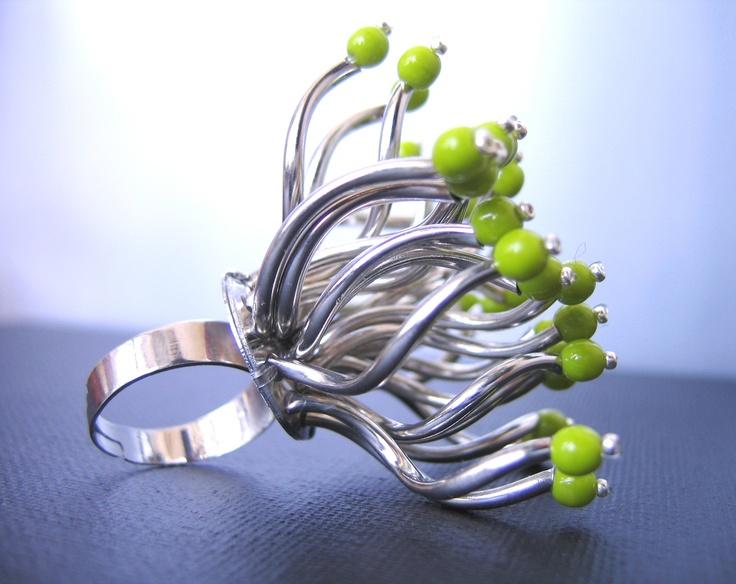"""Swedish charm"" ring  Faun Noir Jewellery  www.faunnoir.com"