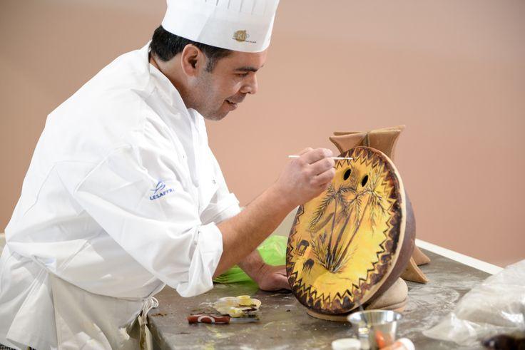 Masters de la Boulangerie 2014 – candidate d'Algérie, Toufik BENOUARET, catégorie Pièce Artistique /2014 Bakery Masters – candidate from Algeria, Toufik BENOUARET, Artistic Piece category  Copyright Sabine SERRAD