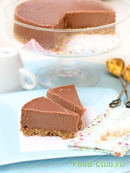 Шоколадный ореховый торт без духовки / Торты и сладкие пироги / Кулинарные рецепты - Фуд-клаб.ру