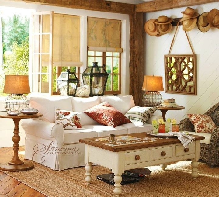 Seaside Cottage Living Room: 25+ Best Ideas About Seaside Cottage Decor On Pinterest