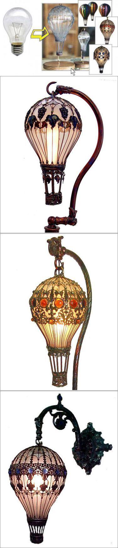 Поделки из лампочек   Самоделки