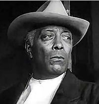 """Juano Hernández (7/19/1896 - 7/17/1970) was a Puerto Rican stage and film actor of African descent who was a pioneer in the African American film industry. He made his debut in an Oscar Micheaux film, The Girl from Chicago, which was directed at black audiences. Hernández also performed in a series of dramatic roles in mainstream Hollywood movies. His participation in the film Intruder in the Dust earned him a Golden Globe Award nomination for """"New Star of the Year""""."""