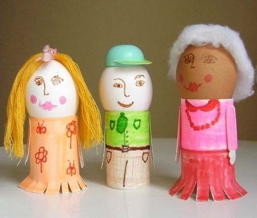 Галерея детских поделок к Пасхе :: Это интересно!