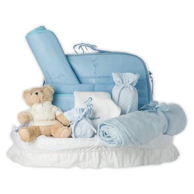 Canastilla Travel Plus. Baby Travel Gift Basket. La Cigueña del Bebe;