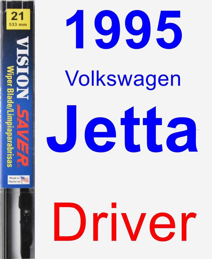 Driver Wiper Blade for 1995 Volkswagen Jetta - Vision Saver