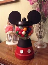 Mickey Minnie Mouse Disney Gumball Favors, Centerpieces for boys and girls baby shower, birthdays