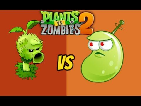 Plants vs Zombies 2 Primal Peashooter Vs Laser Bean
