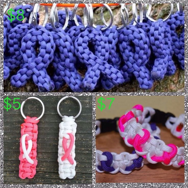 Relay for Life paracord fundraiser