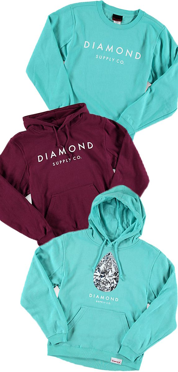 Some of our Fall favorites    Diamond Hoodies