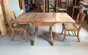 Duncan Phyfe fold down dining table Kingston Kingston Area image 1