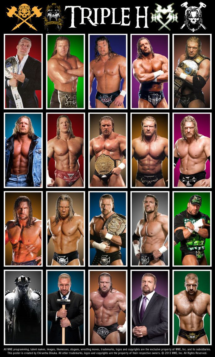 Triple H Poster by Chirantha