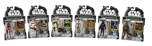Star Wars Legacy Collection Droid Factory Action Figure, 6-Pack Only $14.99 Shipped | SassyDealz.com